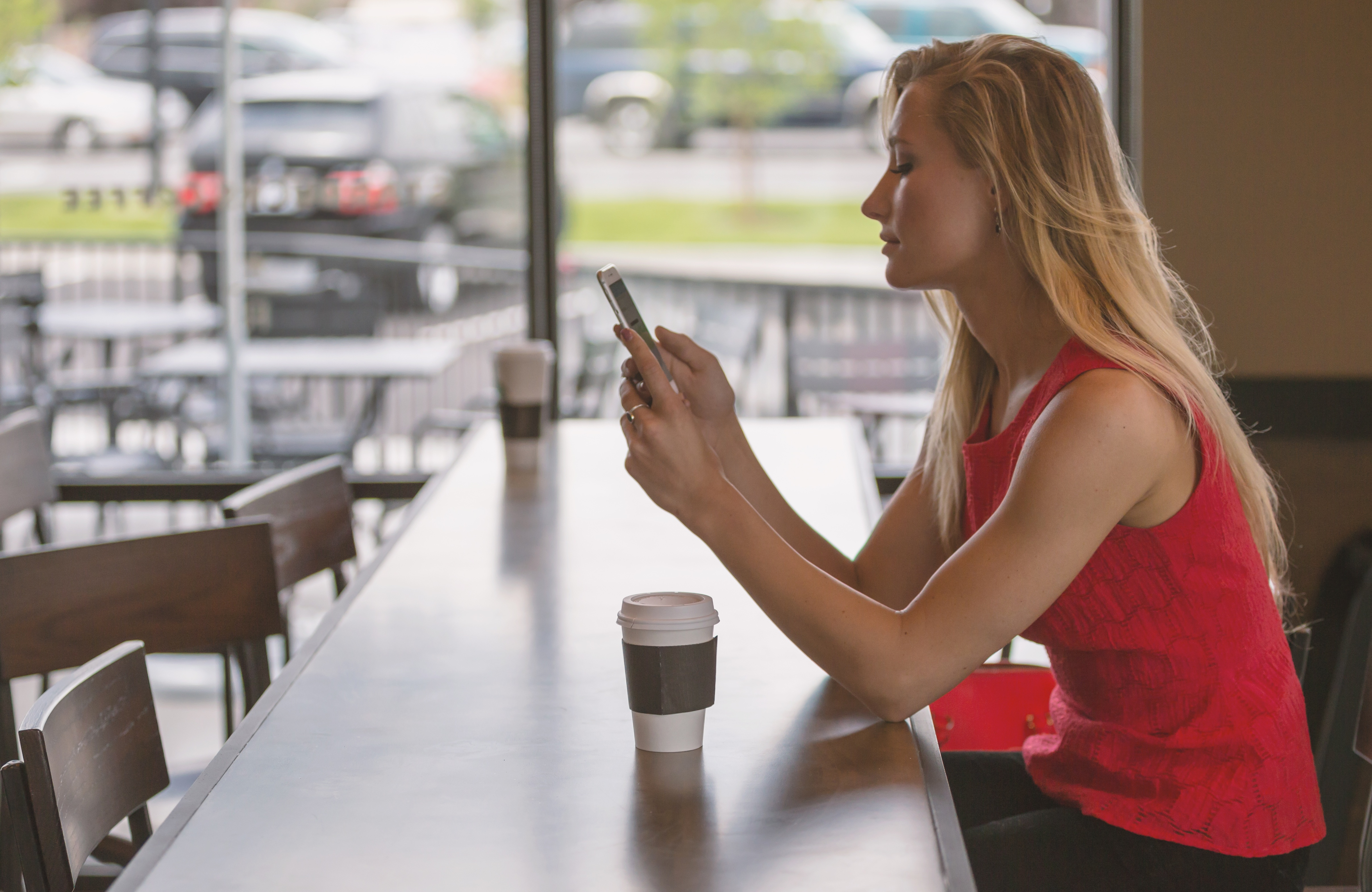 Mobile phone users are always connected