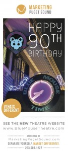 Blue Mouse Theatre Birthday