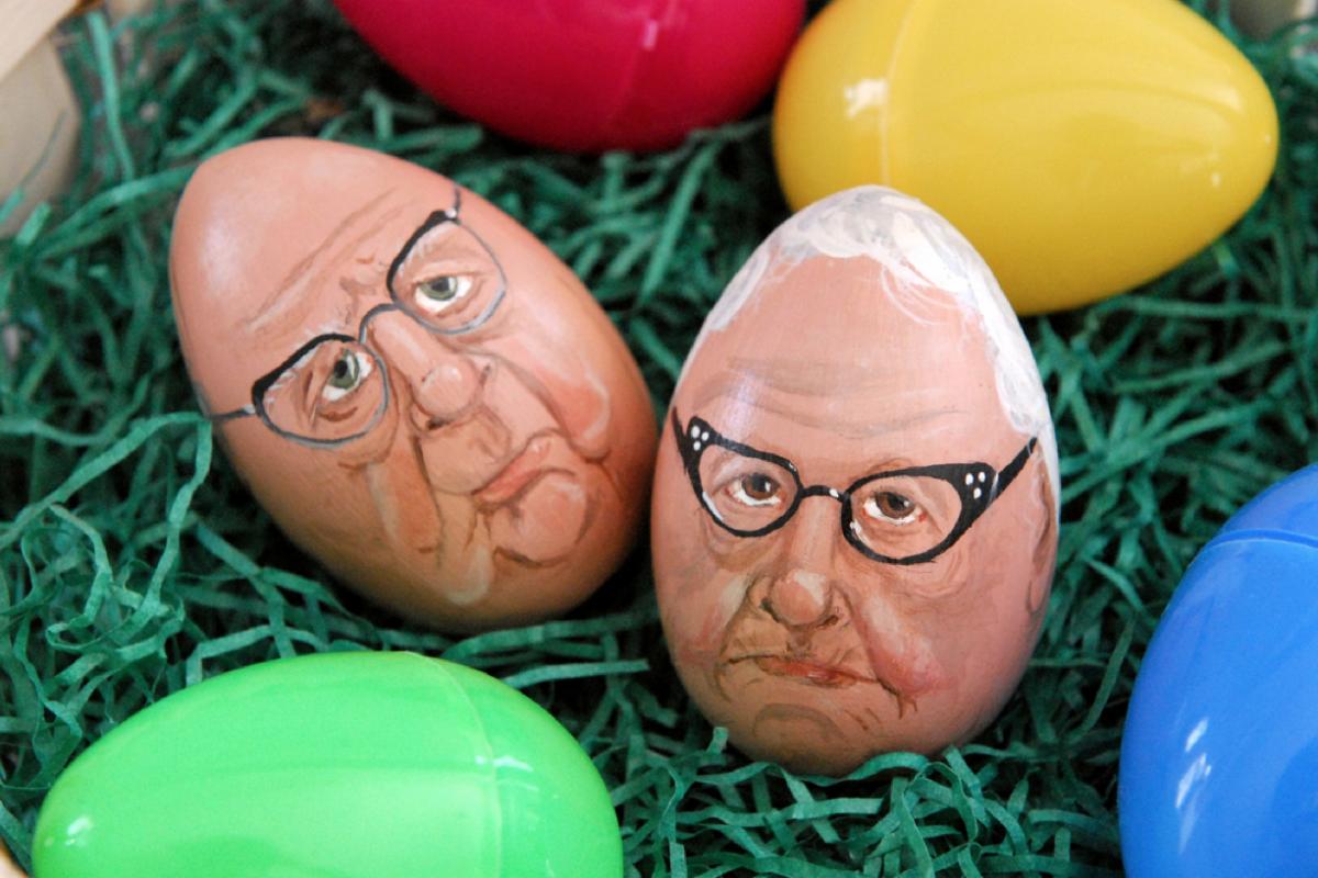 Пасхальные яйца картинки смешные